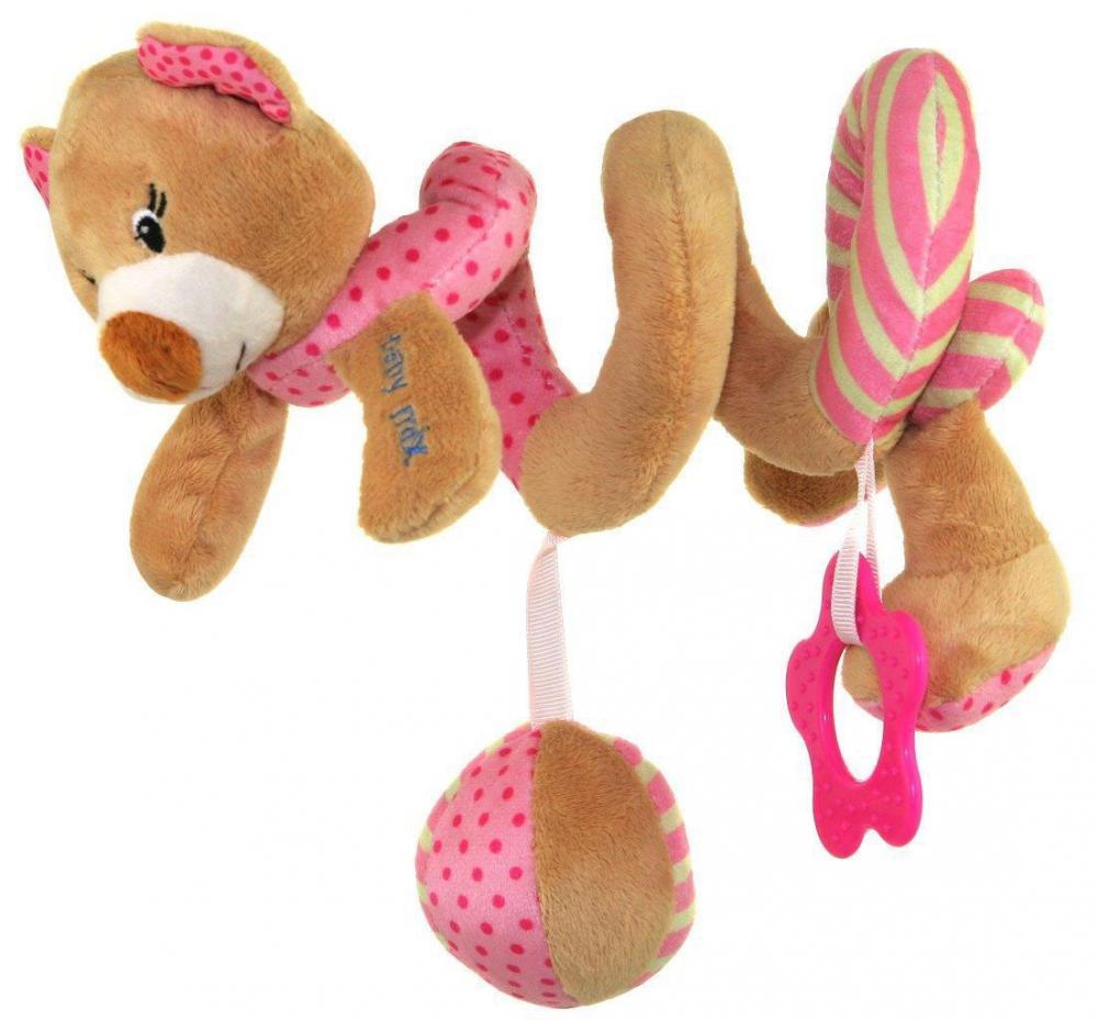 Spirala cu jucarii Pink Bear