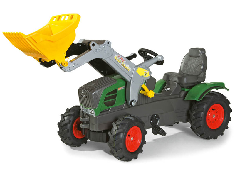 Tractoras copii cu pedale Rolly Toys 611089 imagine