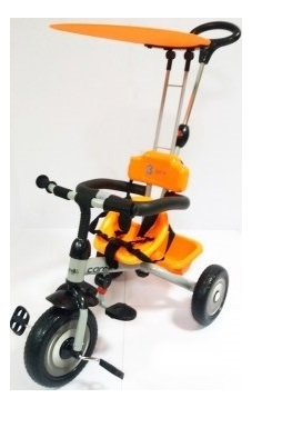 Tricicleta 3cycle Carello Portocaliu