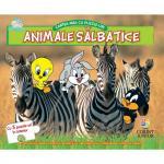 Cartea mea cu puzzle-uri animale salbatice Baby Looney Tunes