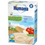 Cereale Humana cu lapte, hrisca si mar 200g 6 luni+
