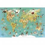 Harta lumii magnetica poetica Lb. Engleza