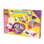 Iron On Beads Hello Kitty cu Stilou