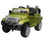 Masinuta electrica cu telecomanda JJ245 6V Verde
