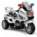 Motocicleta electrica cu doua motoare Police Hero White
