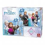 Puzzle 24-50 piese Frozen