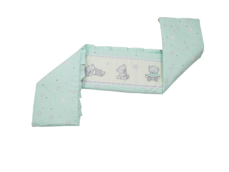 Aparatoare laterala Teddy Toys Turquoise M2 140x70