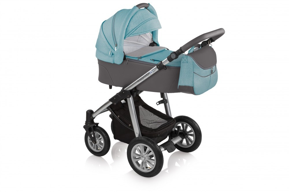 Carucior 3 in 1Baby Design Dotty 05 Turquoise 2017