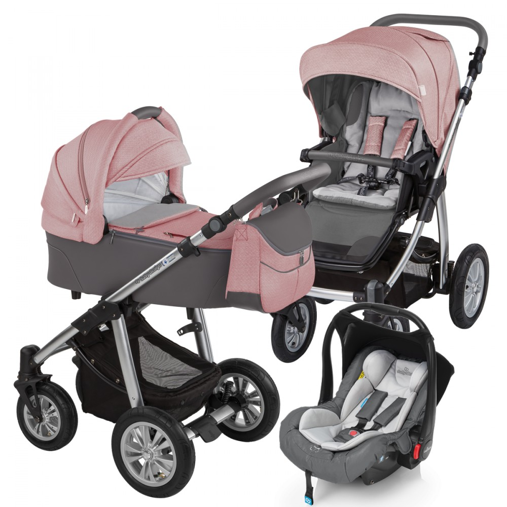 Carucior 3 in 1Baby Design Dotty 08 Koral 2017