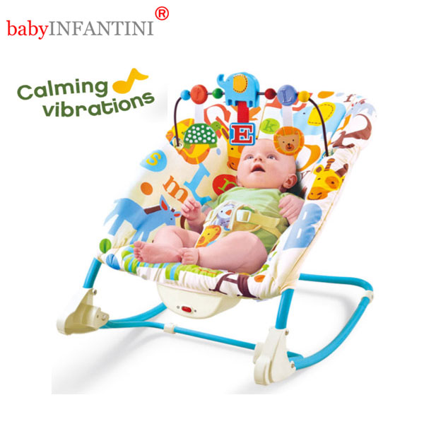 Balansoar 2 in 1 Happy Friends Blue din categoria Camera copilului de la babyINFANTINI