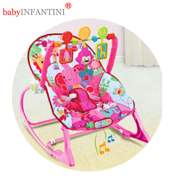 Balansoar 2 in 1 Lion Pink
