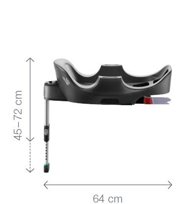 Baza cu isofix reglabila pentru fotoliu Baby-Safe i-Size Britax-Romer