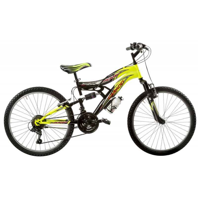 Bicicleta Full Suspension 24 inch