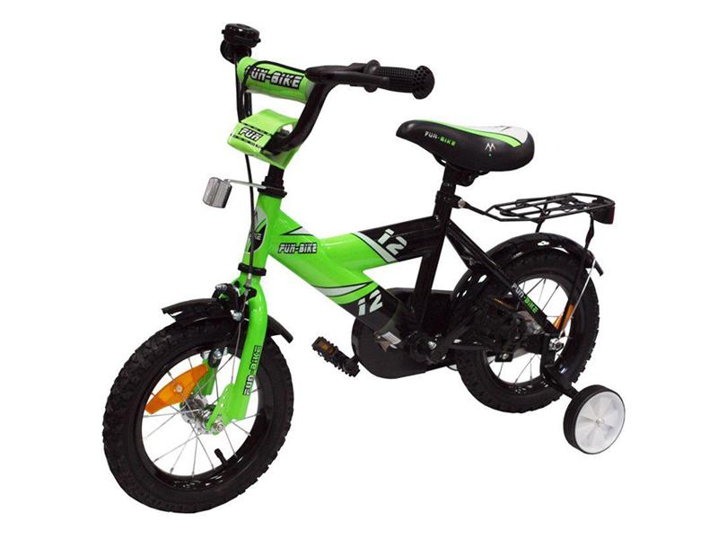 Bicicleta copii Fun Bike 888 Green 12