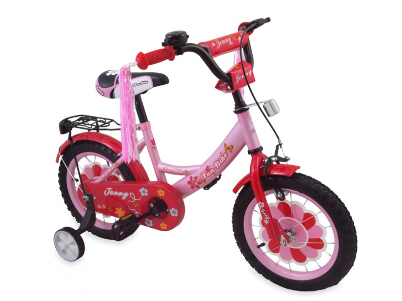 Bicicleta copii Jenny 777 G Pink 12