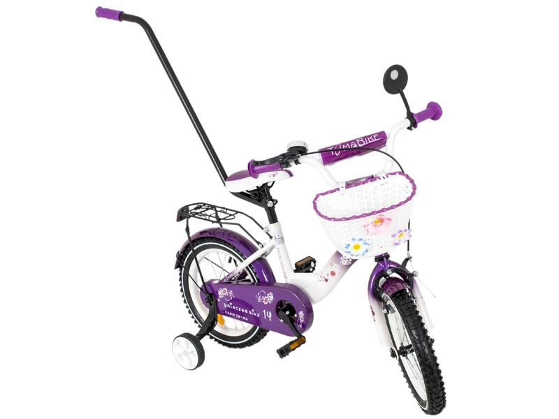 Bicicleta copii Toma Princess Violet 14