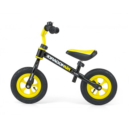 Bicicleta fara pedale Dragon Air Black
