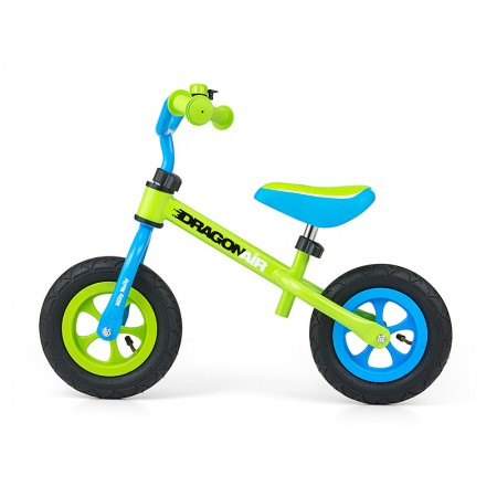 Bicicleta fara pedale Dragon Air Green