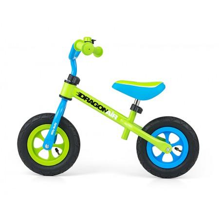 Bicicleta fara pedale Dragon Air Green