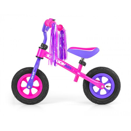 Bicicleta fara pedale Dragon Air Pink