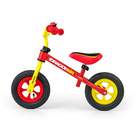 Bicicleta fara pedale Dragon Air Yellow Red