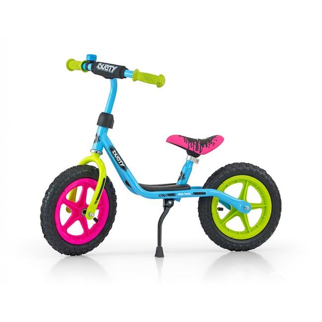 Bicicleta fara pedale Dusty 12 Multicolor
