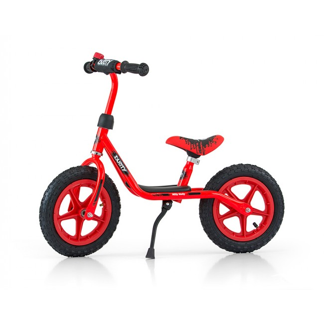 Bicicleta fara pedale Dusty 12 Red