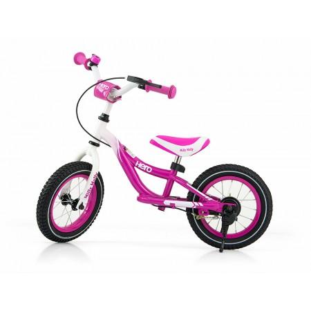 Bicicleta fara pedale Hero Pink cu frana