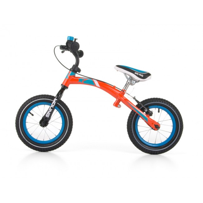 Bicicleta fara pedale Young Orange cu frana