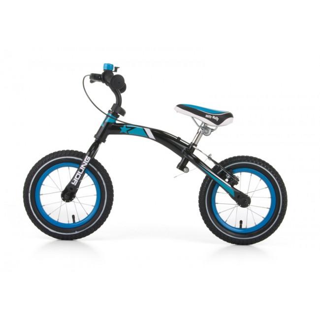 Bicicleta fara pedale Young turquise cu frana