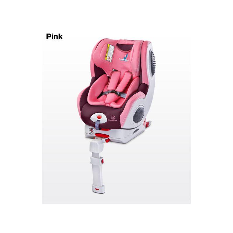 Scaun auto Caretero Champion Isofix 0-18 Kg pink
