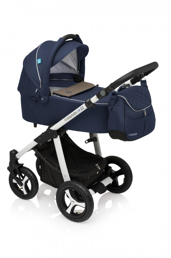 Carucior Multifunctional 2in1 Baby Design Lupo Comfort 03 Navy 2017