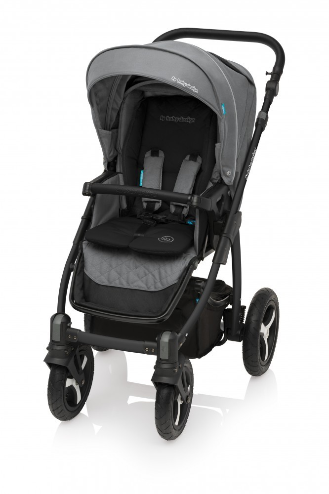 Carucior Multifunctional 2in1 Baby Design Lupo Comfort 07 Graphite 2017