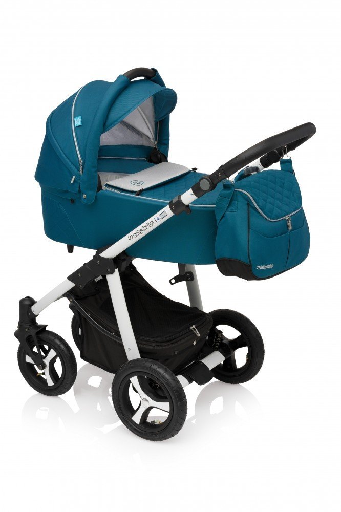 Carucior Multifunctional 3in1 Baby Design Lupo Comfort 05 Turquoise 2017