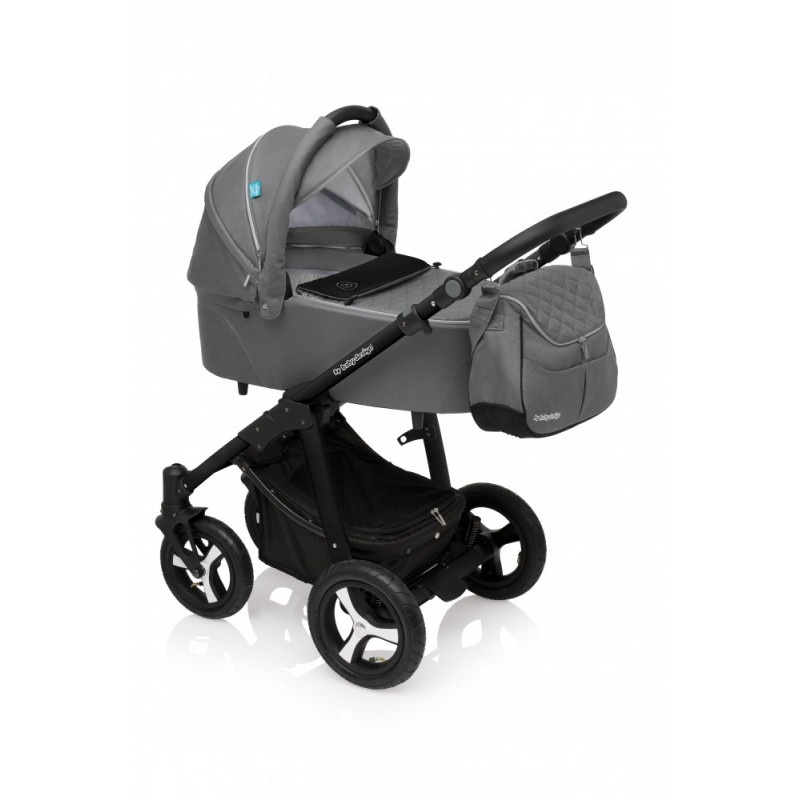 Carucior Multifunctional 3in1 Baby Design Lupo Comfort 07 Graphite 2017