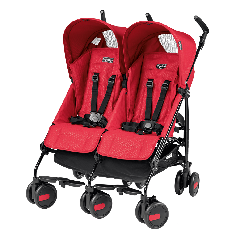 Carucior Peg Perego Pliko Mini Twin Geo Red thumbnail