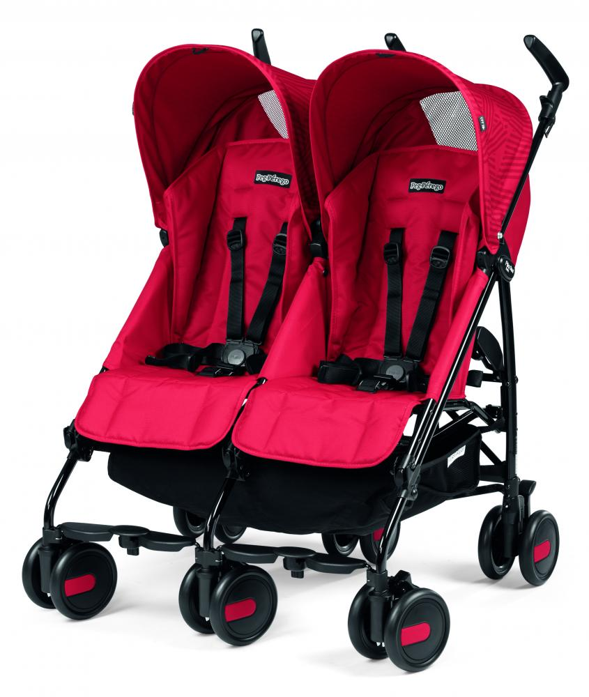Carucior Peg Perego Pliko Mini Twin Geo Red