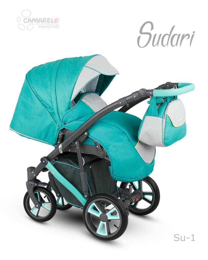 Carucior copii 2 in 1 Sudari 2018 Camarelo Color SU-1