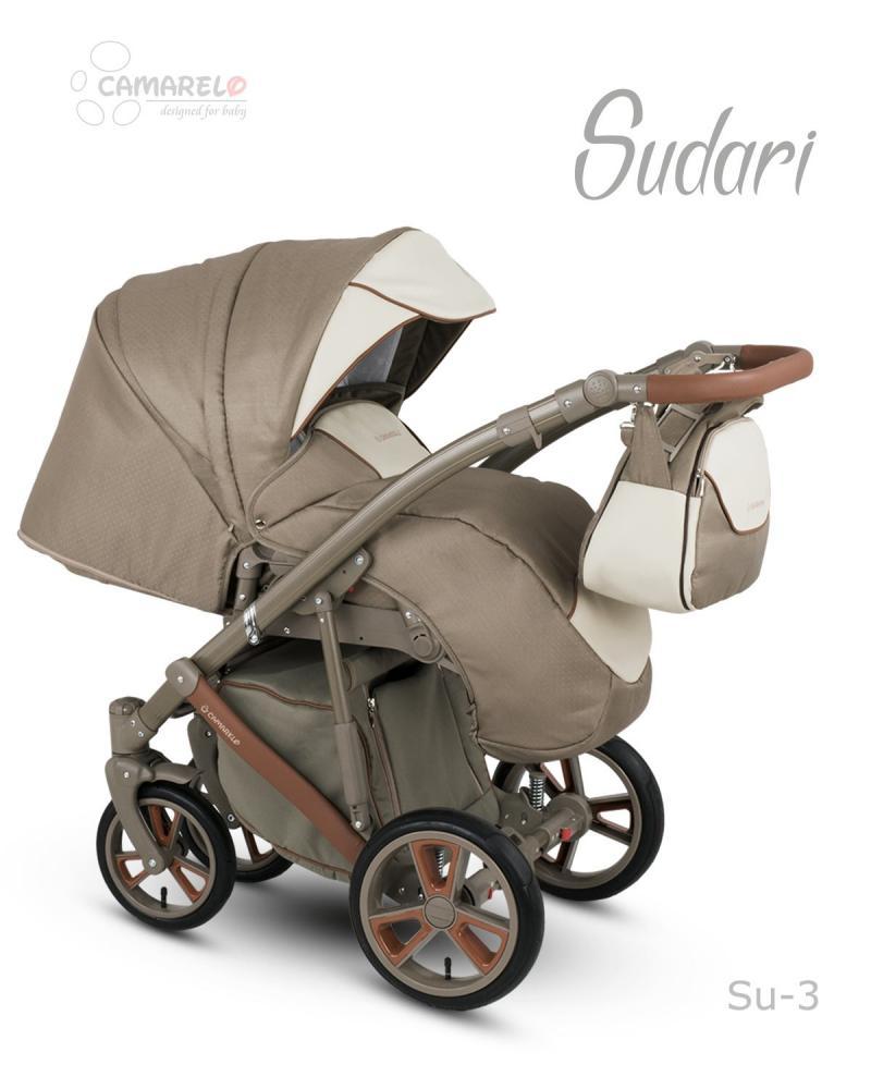 Carucior copii 2 in 1 Sudari 2018 Camarelo Color SU-3
