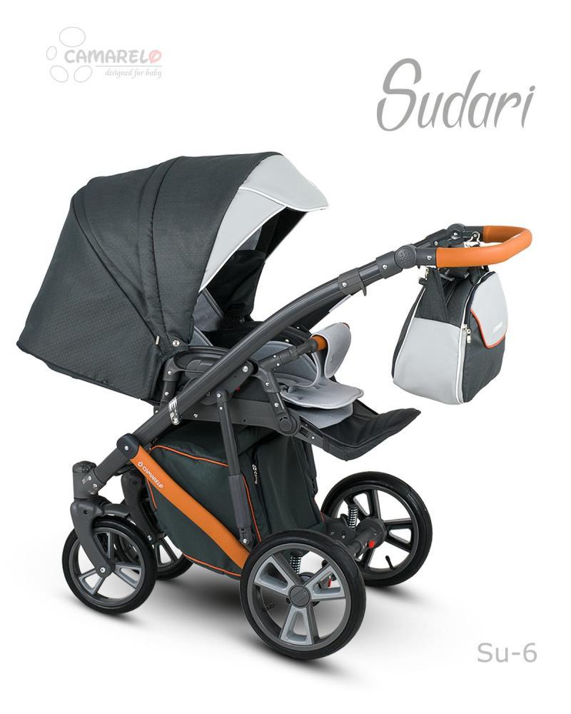 Carucior copii 2 in 1 Sudari 2018 Camarelo Color SU-6