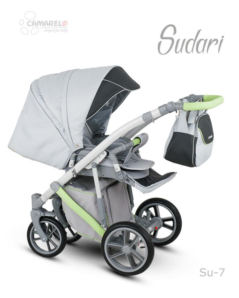 Carucior copii 2 in 1 Sudari 2018 Camarelo Color SU-7