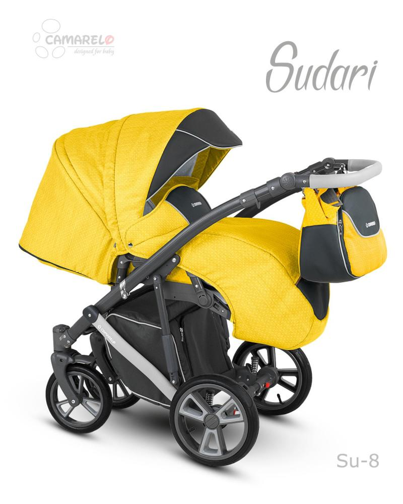 Carucior copii 2 in 1 Sudari 2018 Camarelo Color SU-8