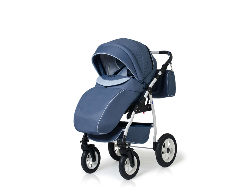 Carucior copii 3 in 1 Germany blue inchis