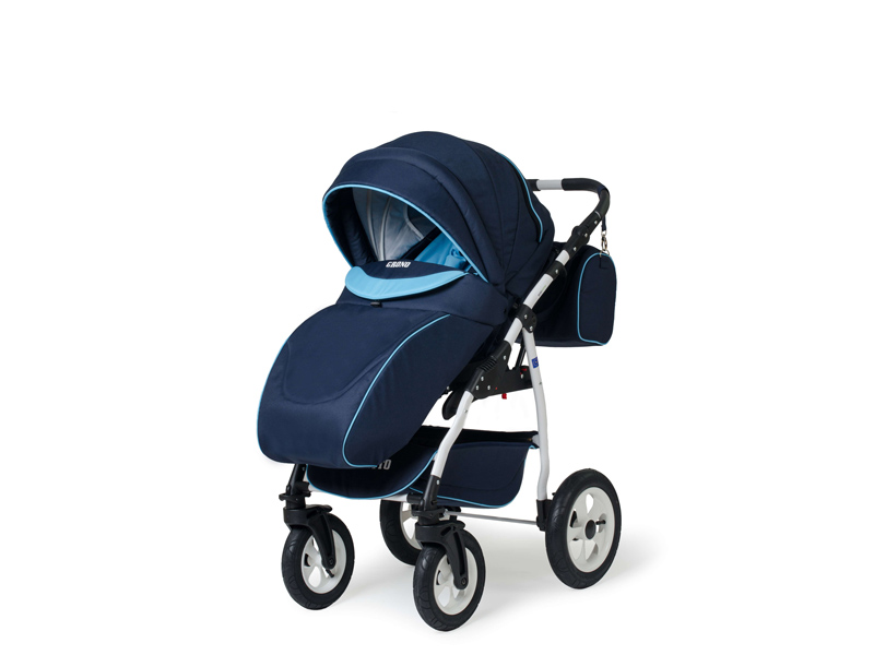 Carucior copii 3 in 1 Germany bleumarin