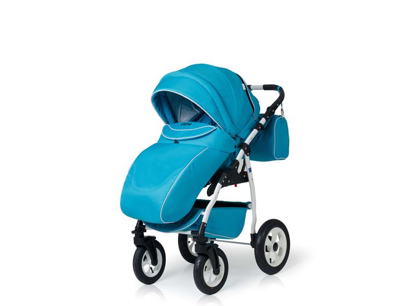 Carucior copii 3 in 1 Germany blue deschis
