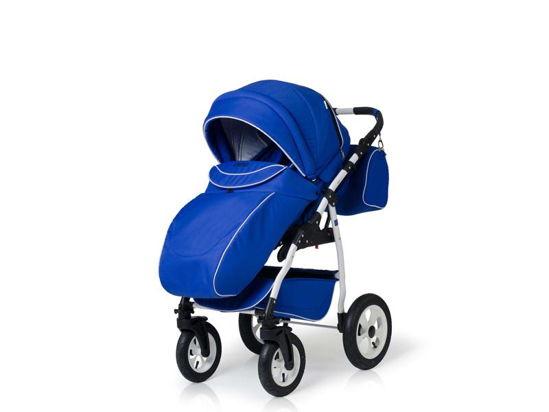 Carucior copii 3 in 1 Germany blue regal