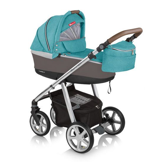 Carucior multifunctional 2in1 Espiro Next Manhattan 205 Florida Turquoise 2017