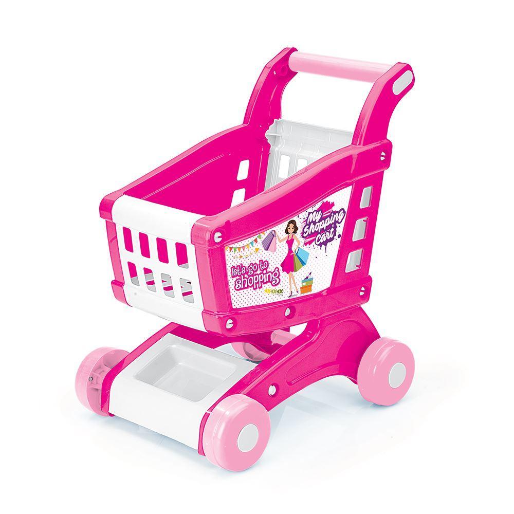 Carucior pentru cumparaturi -  Roz
