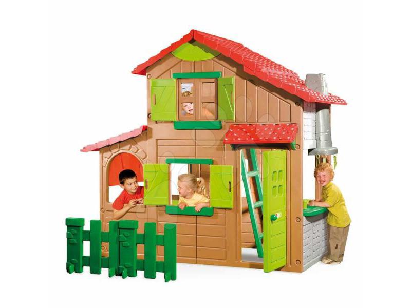 Casuta de joaca Smoby Duplex cu etaj