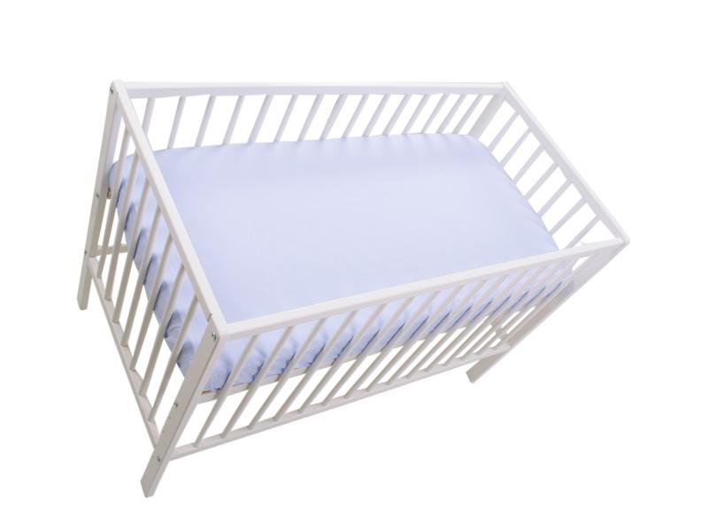 Cearceaf cu elastic blue 120x60